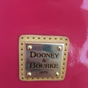 Dooney & Bourke Hot Pink Patent Leather Satchel